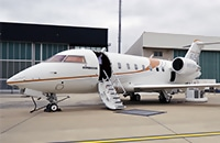 The Bombardier Challenger 650 Jet